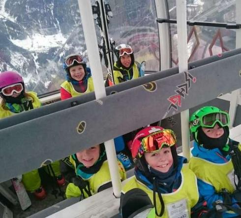 cable car Ischgl-Samnaun Kids Club Ski School