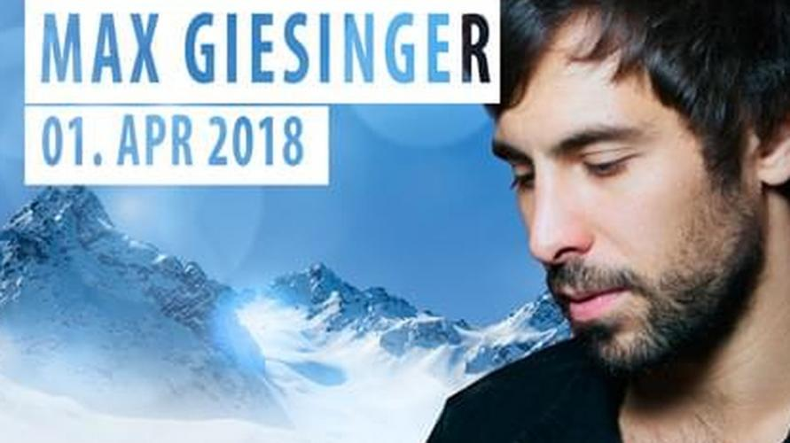 Top of the Mountain Easter Concert Idalp mit MAX GIESINGER